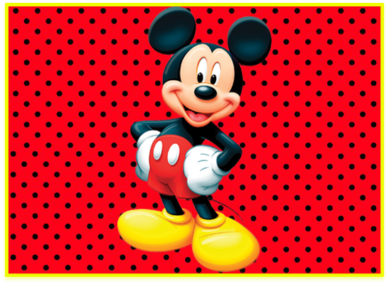 opera candy bar mickey kit imprimible
