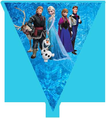 paraguita candy bar Frozen kit imprimible