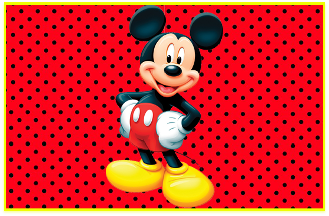 sugusconfitados candy bar mickey kit imprimible