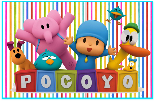 sugusconfitados candy bar pocoyo kit imprimible