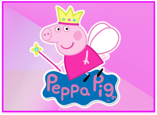 opera candy bar peppa princesa kit imprimible