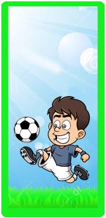 picodulce candy bar futbol animado kit imprimible