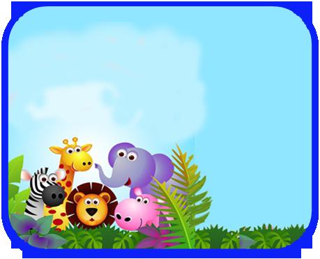 alfajores2 candy bar animalitos de la selva kit imprimible