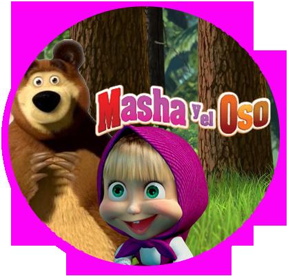 alfajores3 candy masha y el oso kit imprimible