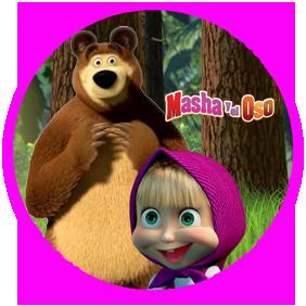 bonobon candy masha y el oso kit imprimible