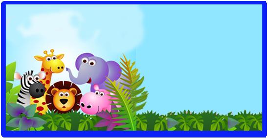 rhodesia i candy bar animalitos de la selva kit imprimible