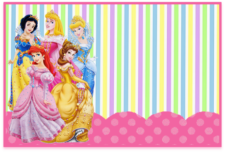 Tita candy bar princesas disney kit imprimible