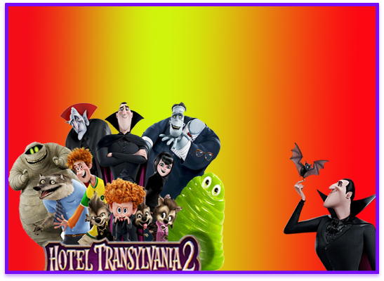 opera-candy bar hotel transylvania kit imprimible