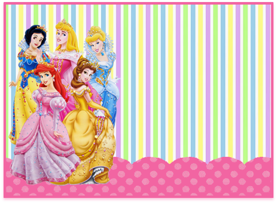 opera candy bar princesas disney kit imprimible