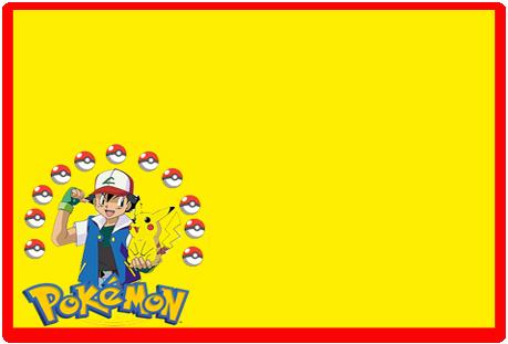 Tita candy bar pokemon kit imprimible