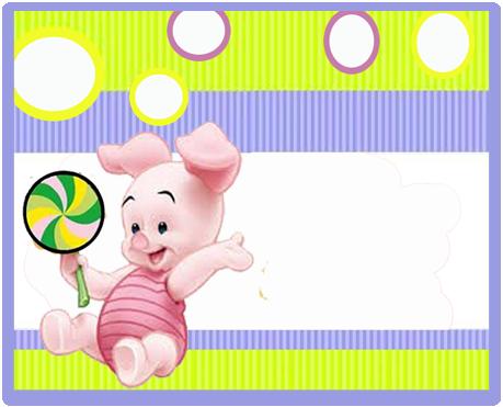 alfajores candy bar piglet kit imprimible