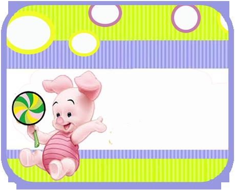 alfajores2 candy bar piglet kit imprimible