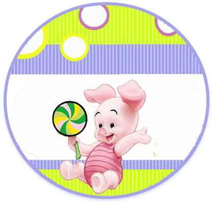 alfajores3 candy bar piglet kit imprimible