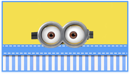 chocolate2 candy bar minions ojitos kit imprimible