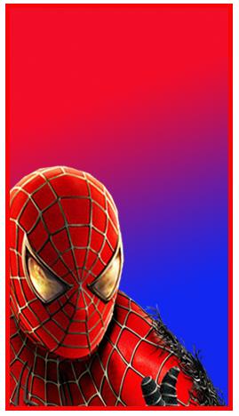 mini baggio-candy bar spiderman kit imprimible