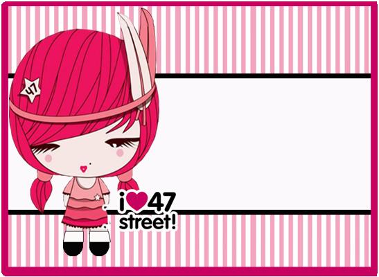opera -candy bar 47 street kit imprimible