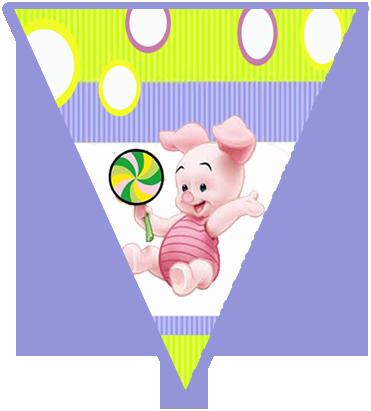 paraguita candy bar piglet kit imprimible