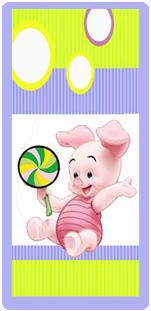 picodulce candy bar piglet kit imprimible