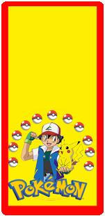 picodulce candy bar pokemon kit imprimible