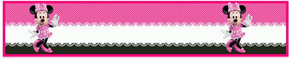 turron de mani candy bar minnie rosa kit imprimible