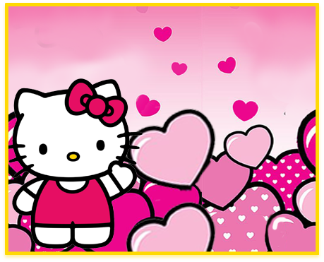 alfajores candy-bar kitty animado kit-imprimible