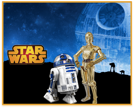 alfajores candy bar star wars 2 kit imprimible