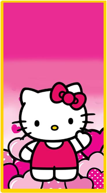 clubsocial candy-bar kitty animado kit-imprimible