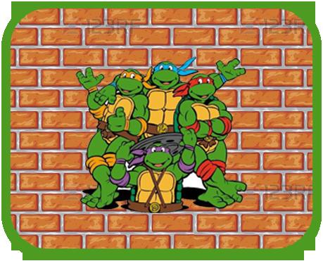 alfajores2 candy-bar tortugas ninjas kit-imprimible