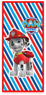 picodulce candy bar marshal paw patrol kit imprimible