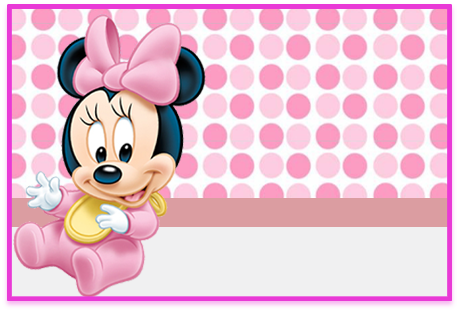 Tita-candy bar minnie bebe 2 kit imprimible