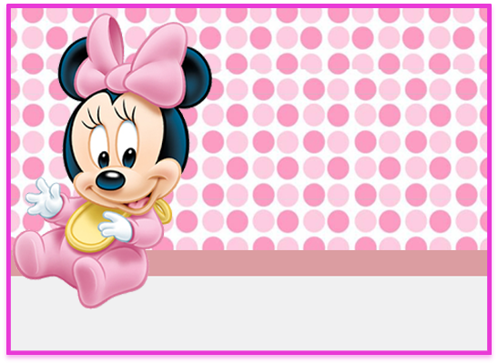 opera-candy bar minnie bebe 2 kit imprimible
