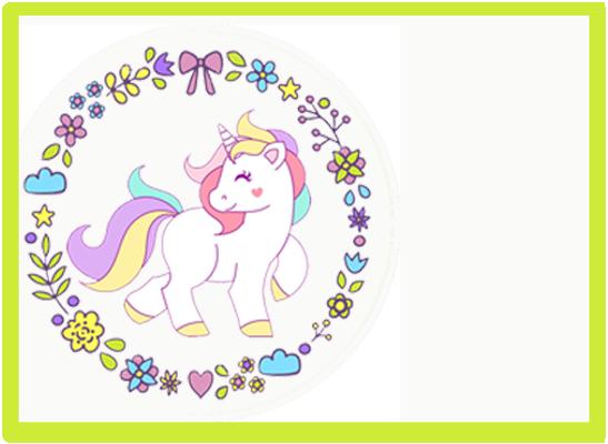 opera-candy bar unicornio kit imprimible