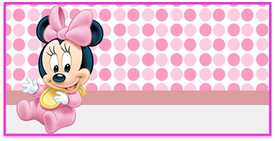 rhodesia-candy bar minnie bebe 2 kit imprimible