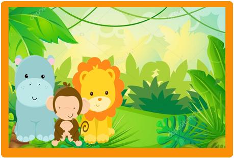 Tita -candy bar animalitosde la selva bebes kit imprimible