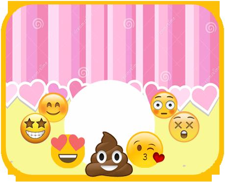 alfajores2 candy bar emoji caquita kit imprimible