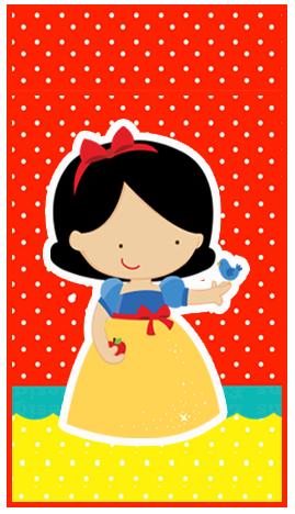 baggio mini-candy-bar blancanieves bebe kit-imprimible