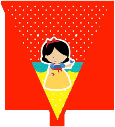 paraguita-candy-bar blancanieves bebe kit-imprimible