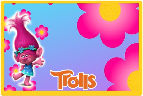 Tita candy bar trolls kit imprimible