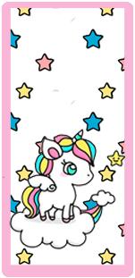 picodulce candy bar unicornio en nube kit imprimible