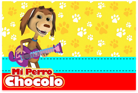 Tita-candy bar mi perro chocolo kit imprimible