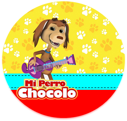 alfajores3-candy bar mi perro chocolo kit imprimible