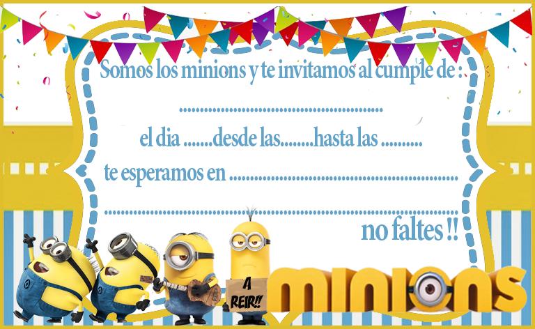 invitacion-tarjetita-candy-bar minions kit-imprimible