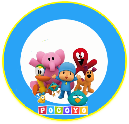alfajores3 candy-bar pocoyo kit-imprimible