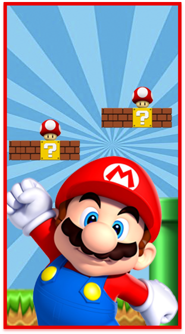 clubsocial-candy bar mario bross kit imprimible