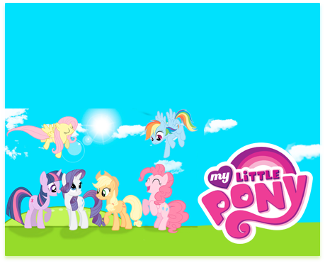 alfajores-candy bar little pony kit imprimible