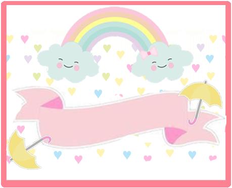 alfajores-candy bar lluvia de amor kit imprimible