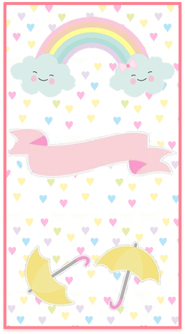 clubsocial-candy bar lluvia de amor kit imprimible