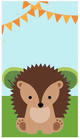 baggio mini-candy bar animalitos de la selva kit imprimible