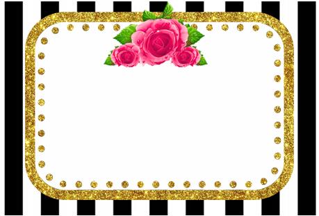 Tita -candy bar rayas y flores kit imprimible