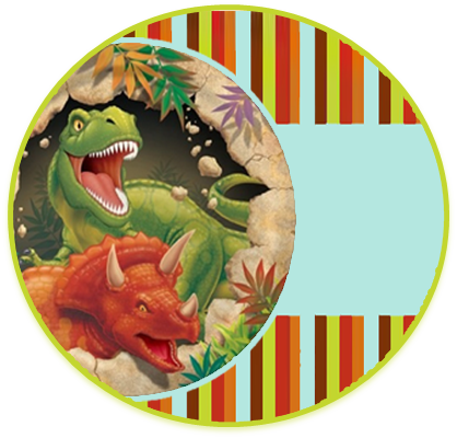 alfajores3 candy bar dinosaurios kit imprimible
